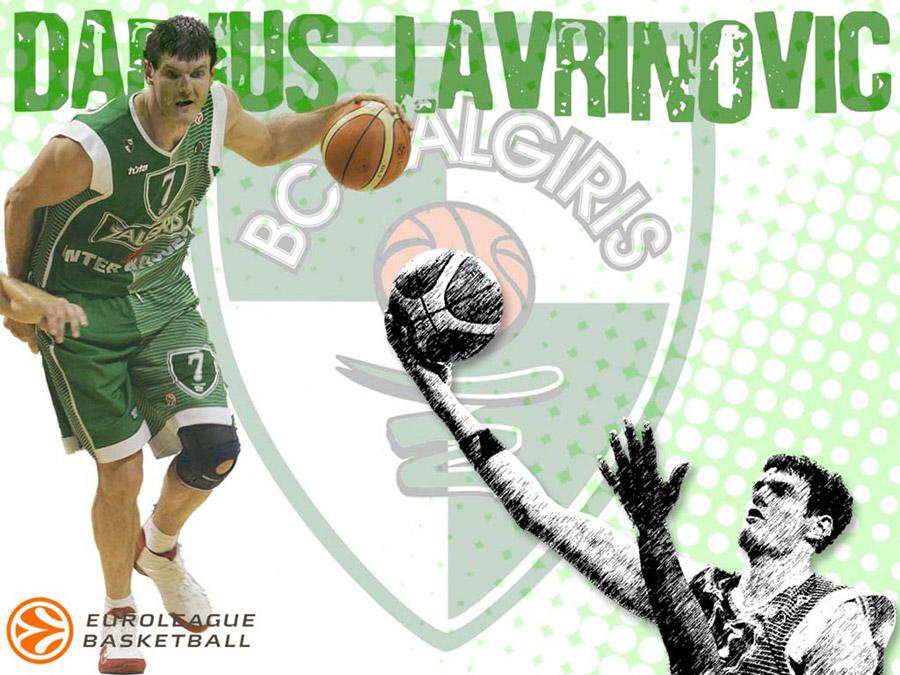 Darius Lavrinovic Zalgiris Wallpaper
