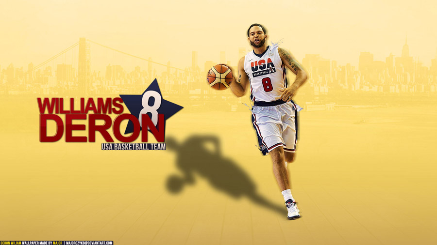 Deron Williams London 2012 1920x1080 Wallpaper