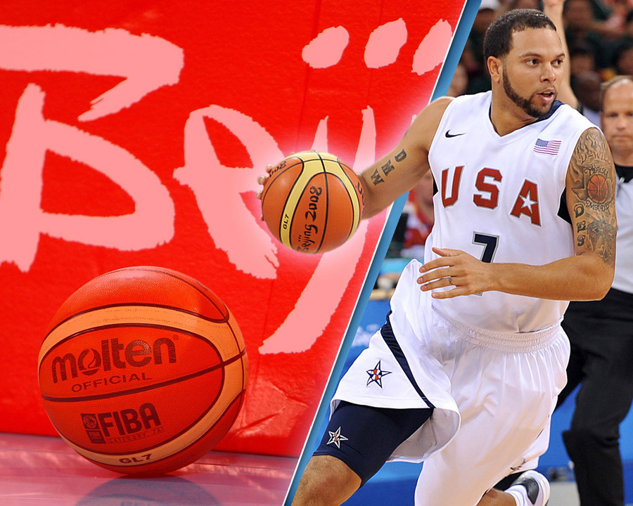 Deron Williams Olympics 2008 Wallpaper