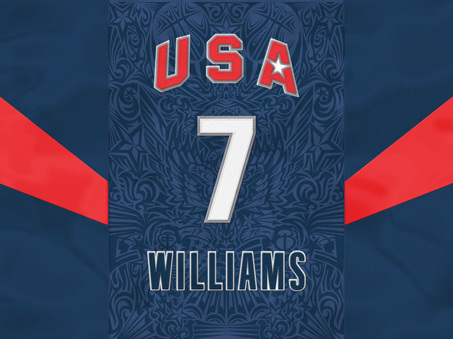 Deron Williams USA Number 7 Wallpaper