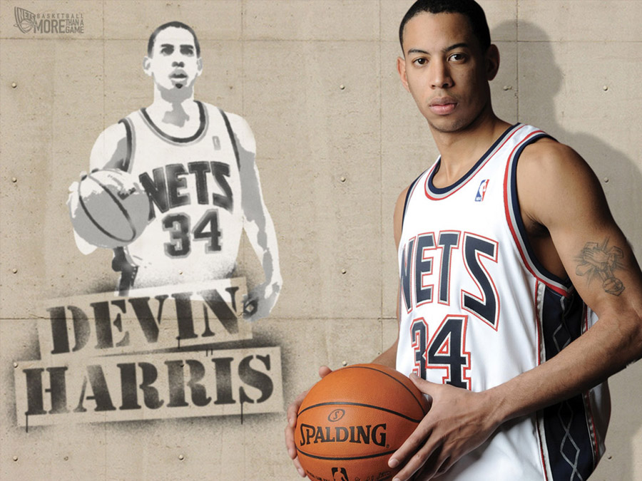 Devin Harris Nets Wallpaper