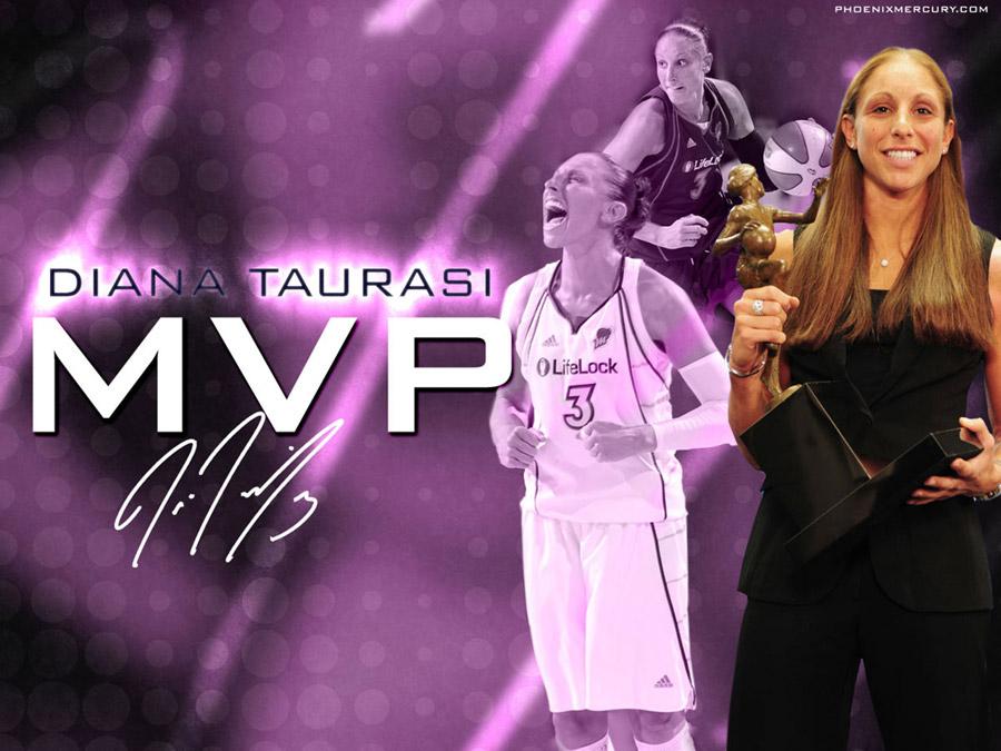 Diana Taurasi 2009 WNBA MVP Wallpaper