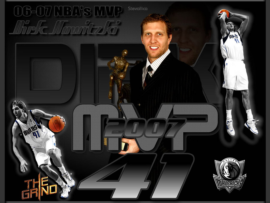 Dirk Nowitzki 2007 MVP Wallpaper