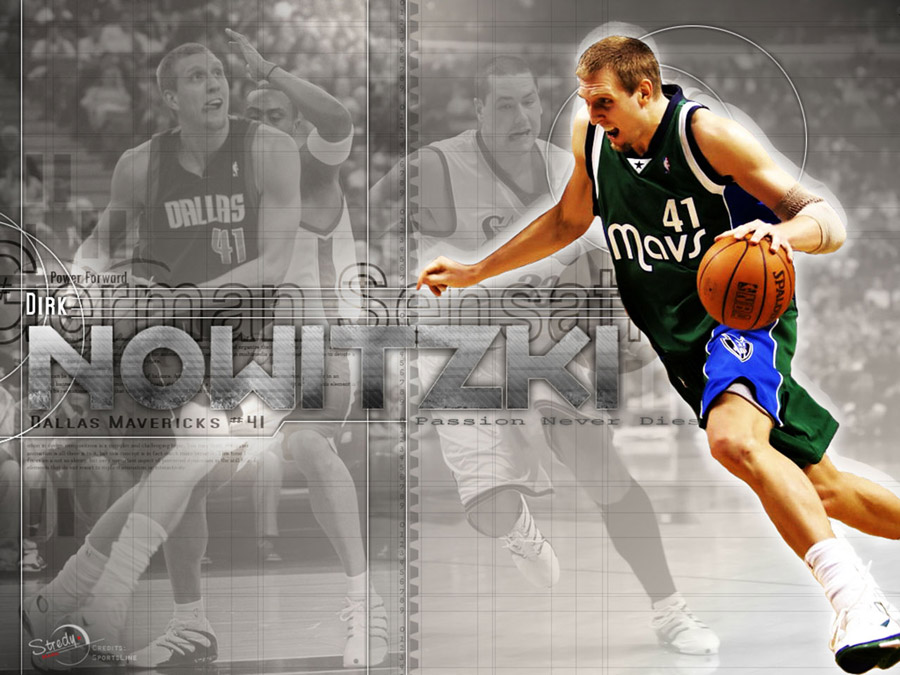 Dirk Nowitzki Attack Wallpaper