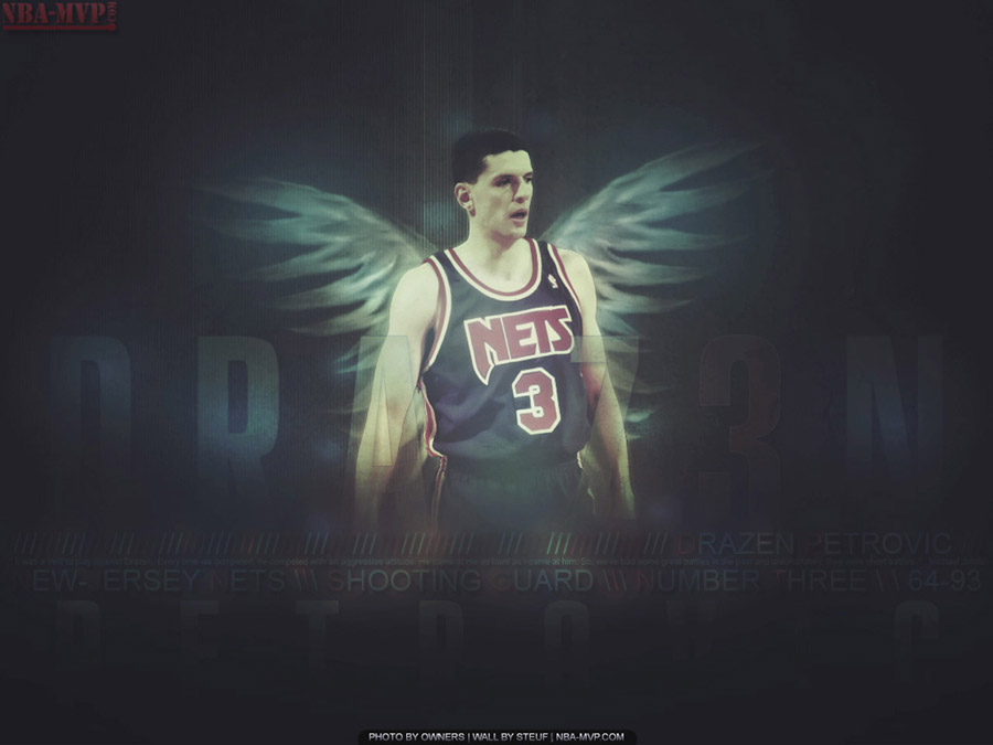 Drazen Petrovic Angel Wings Wallpaper