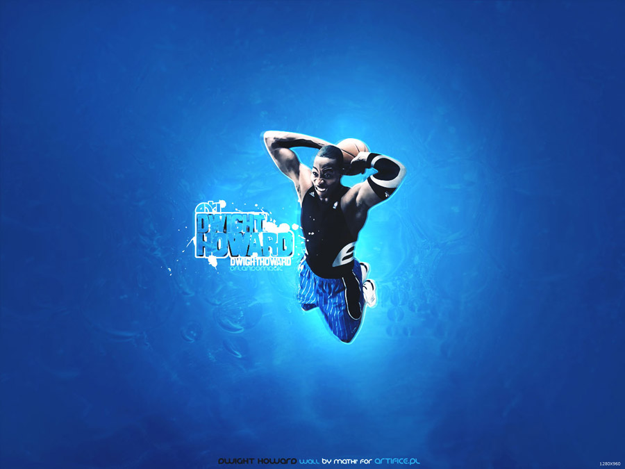 Dwight Howard Flying Dunk Wallpaper