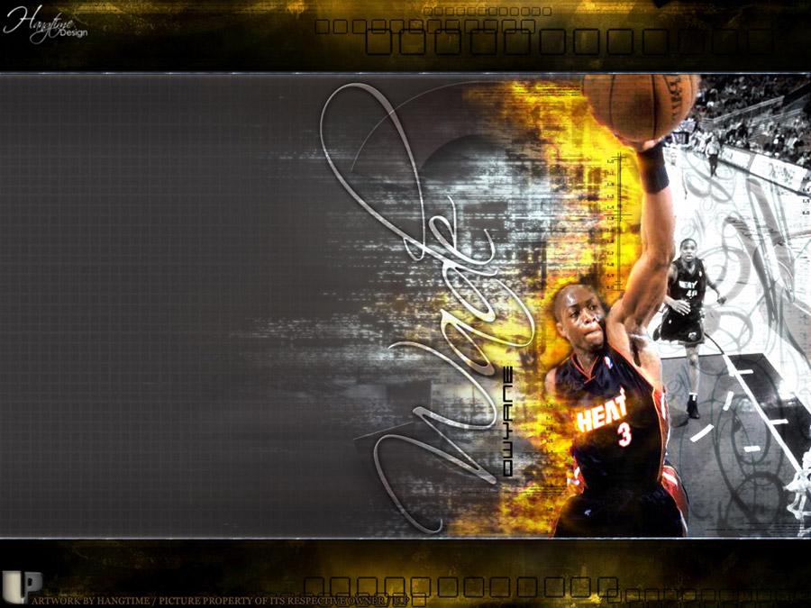 Dwyane Wade Burning Dun Wallpaper