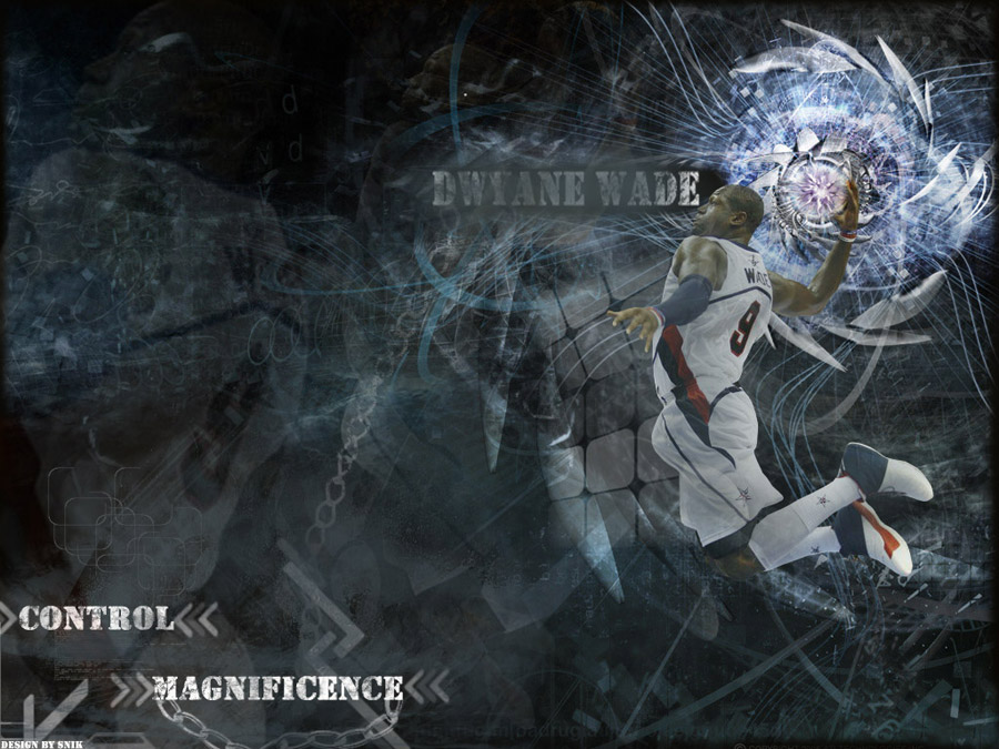Dwyane Wade Dunk Wallpaper
