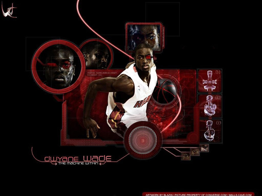 Dwyane Wade Machine Within Wallpaper