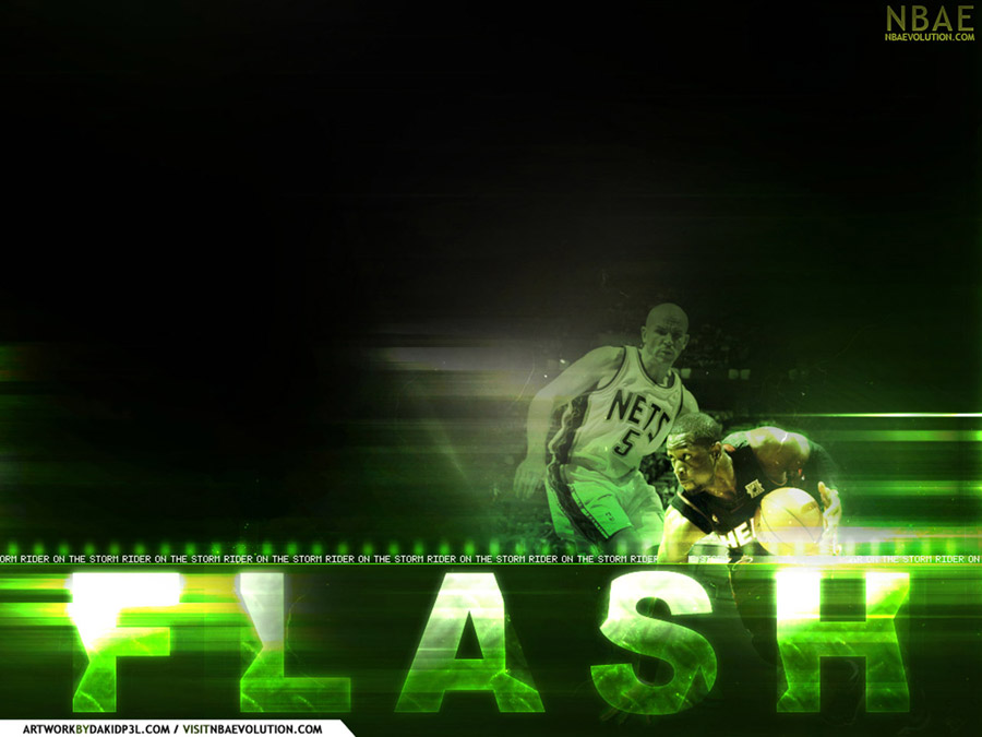 Dwyane Wade vs Jason Kidd Wallpaper