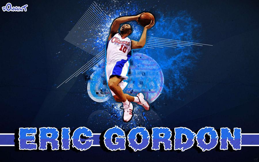 Eric Gordon 2011 Clippers Widescreen Wallpaper