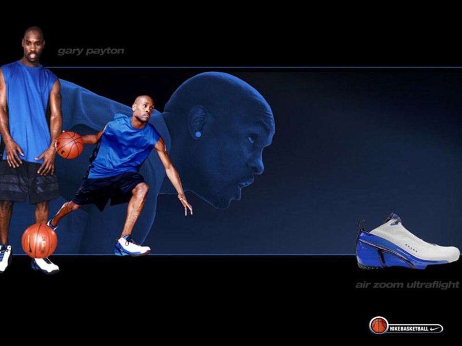 Gary Payton Nike Basketball Wallpaper