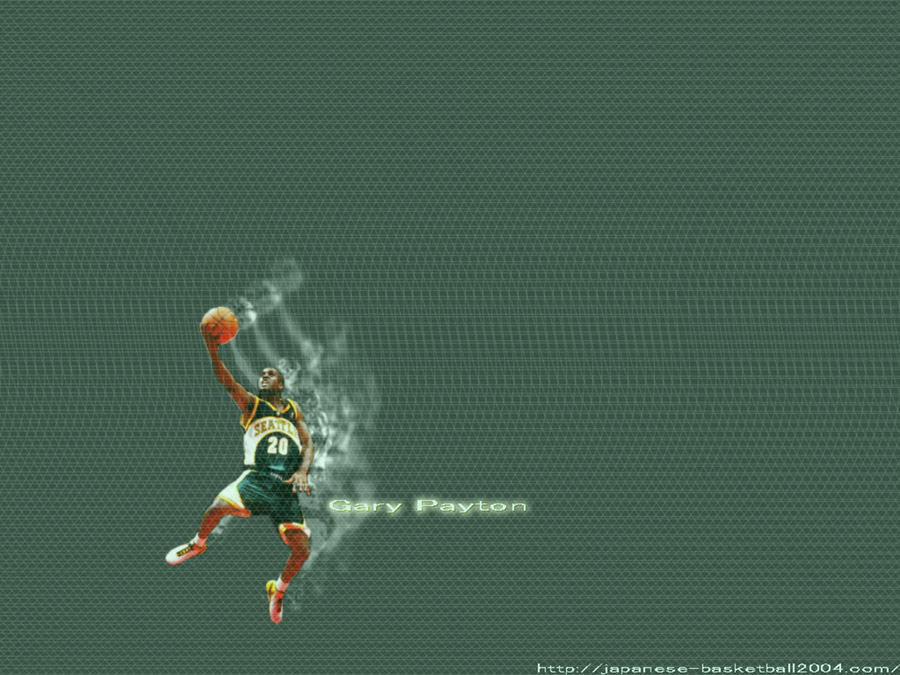 Gary Payton SuperSonics Wallpaper