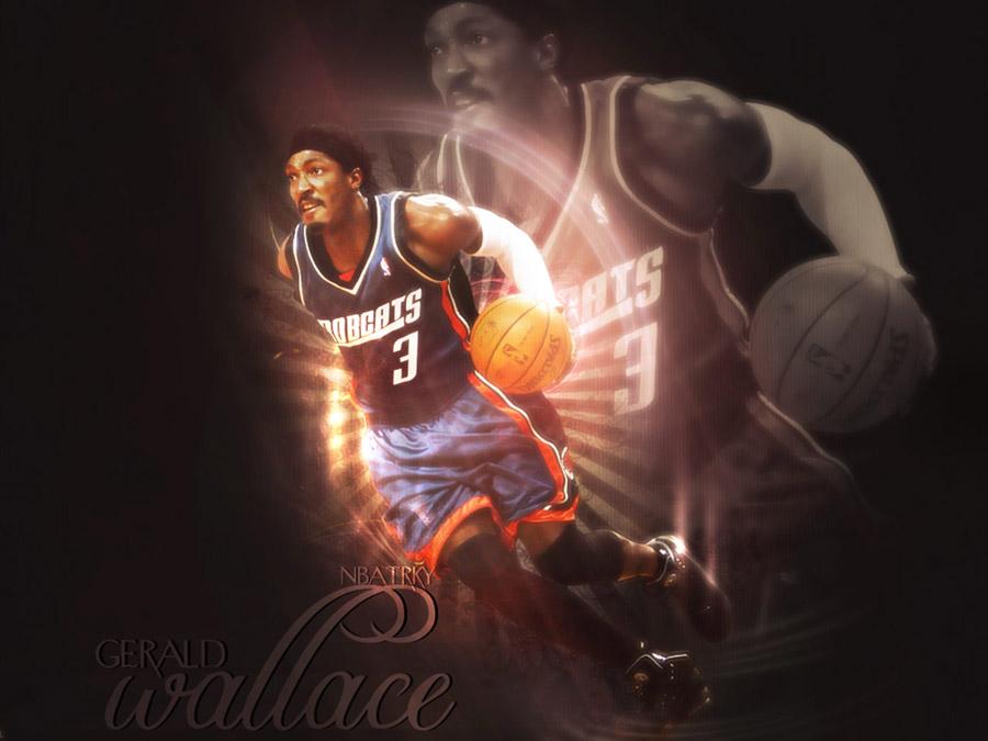 Gerald Wallace Charlotte Bobcats Wallpaper