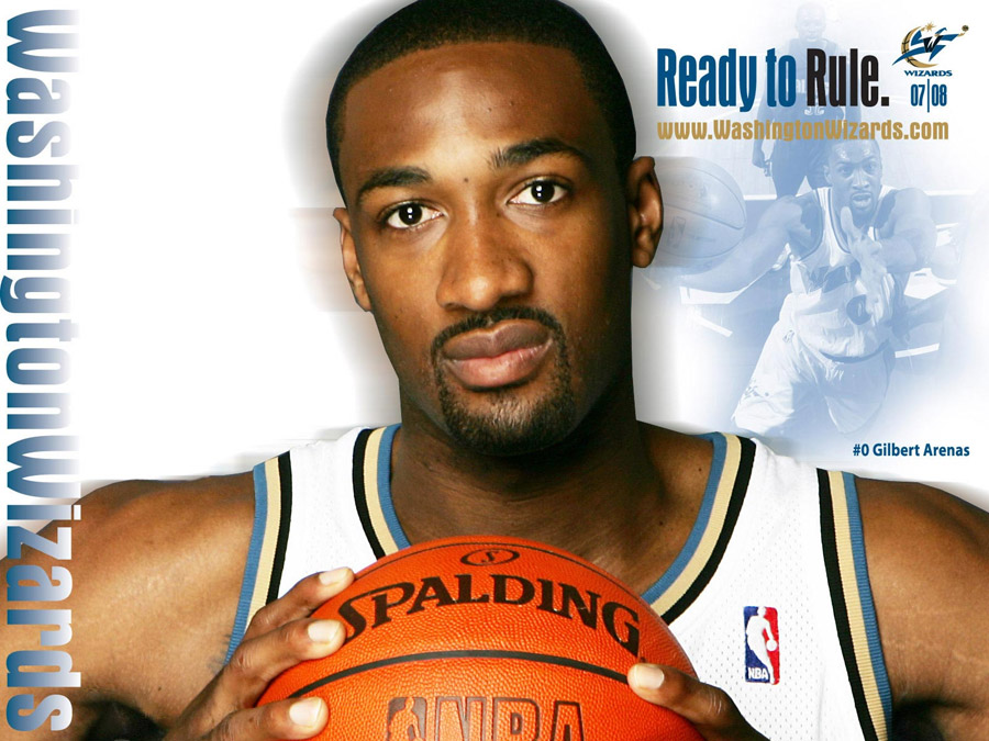 Gilbert Arenas Wizards Wallpaper