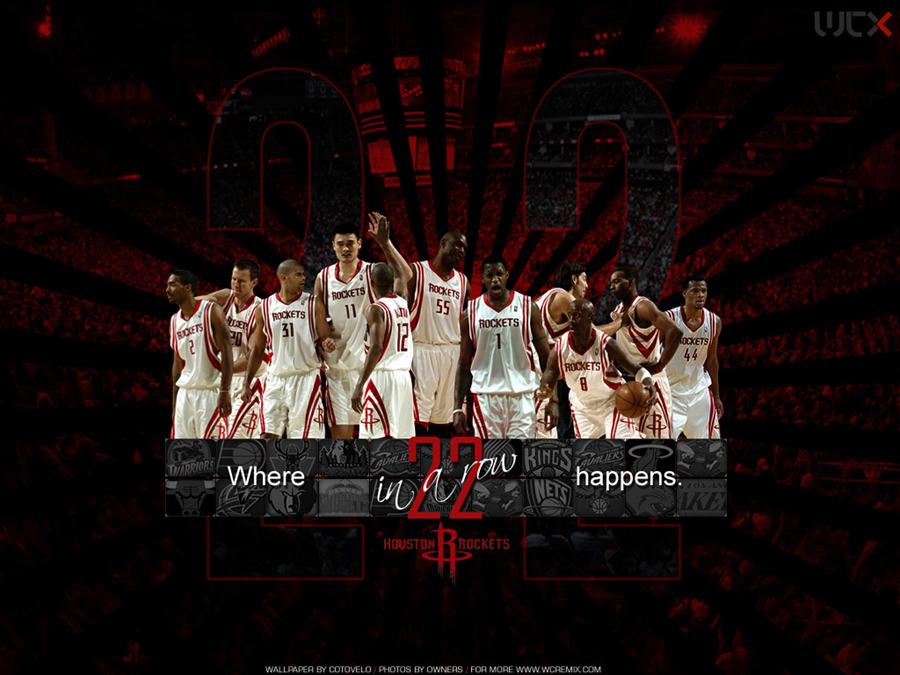 Houston Rockets 22 Wins in Row