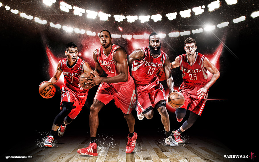 Houston Rockets Big 4 2013 1920x1200 Wallpaper