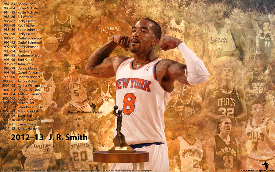 J. R. Smith 6th Player Of The Year 2013 1920x1200 Wallpaper