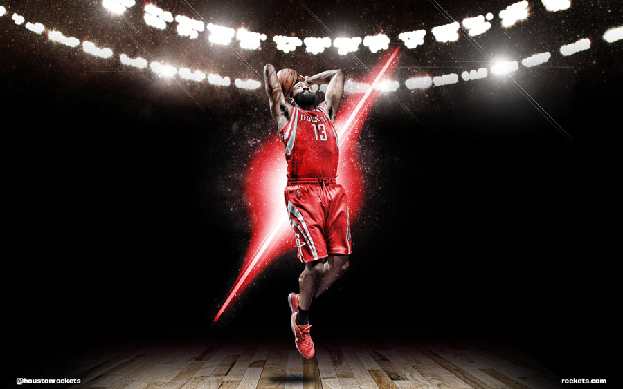James Harden Rockets 1920x1200 Wallpaper