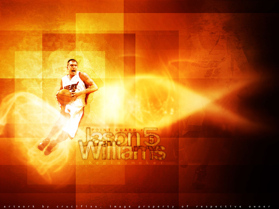 Jason Williams Heat Wallpaper