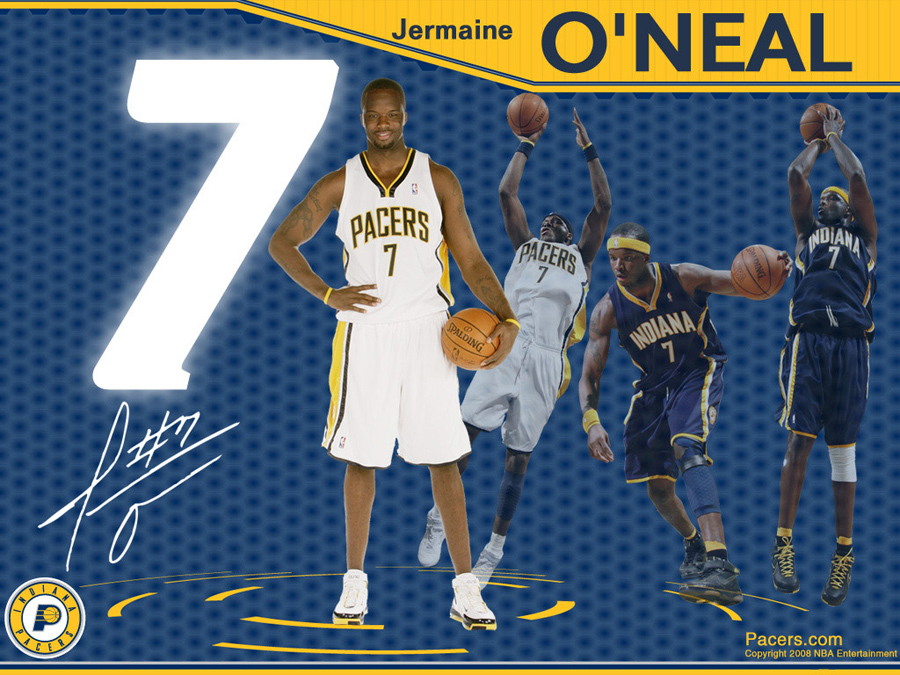 Jermaine O'Neal Pacers Wallpaper