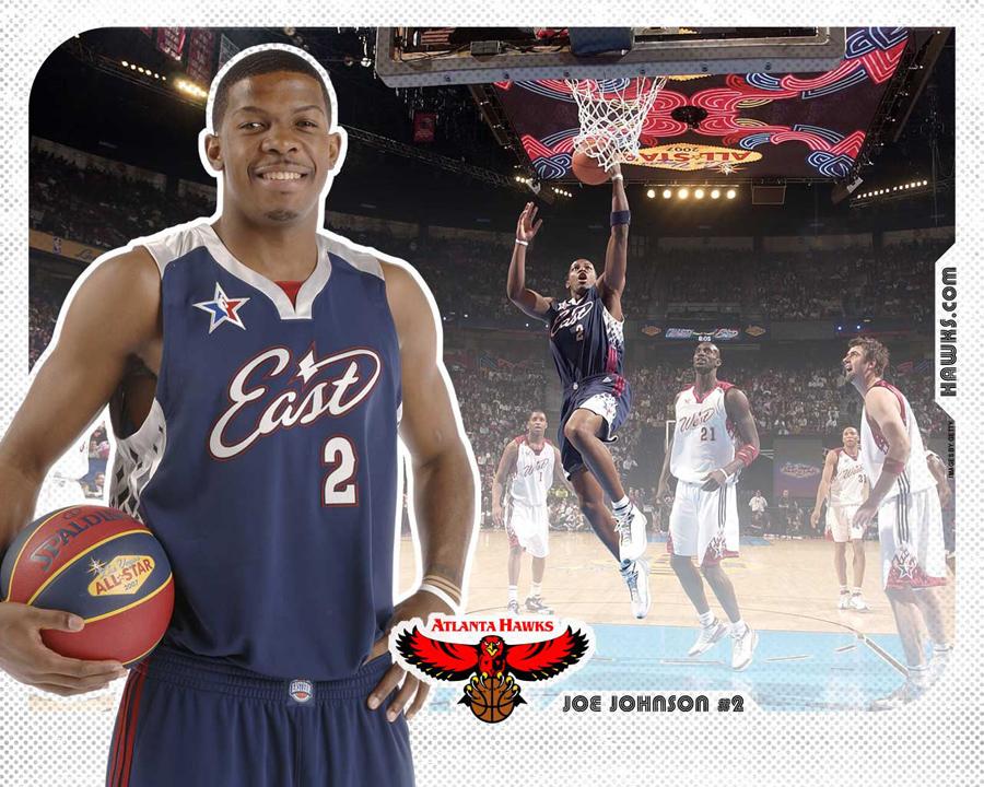 Joe Johnson All-Star 2007 Wallpaper
