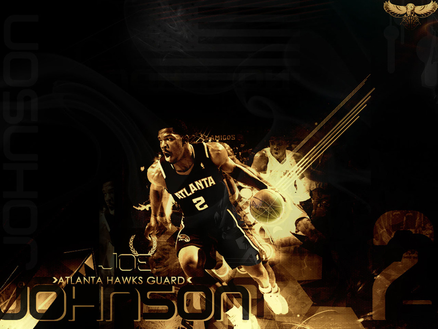 Joe Johnson Hawks Wallpaper
