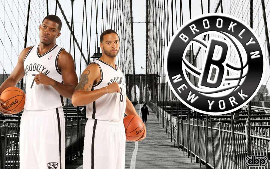 Joe Johnson and Deron Williams Nets 1440x900 Wallpaper