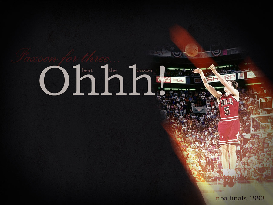 John Paxson 1993 Finals Tittle-Shot Wallpaper