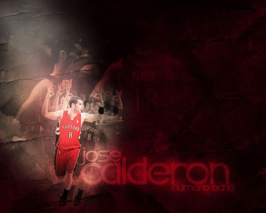 Jose Calderon Raptors Wallpaper