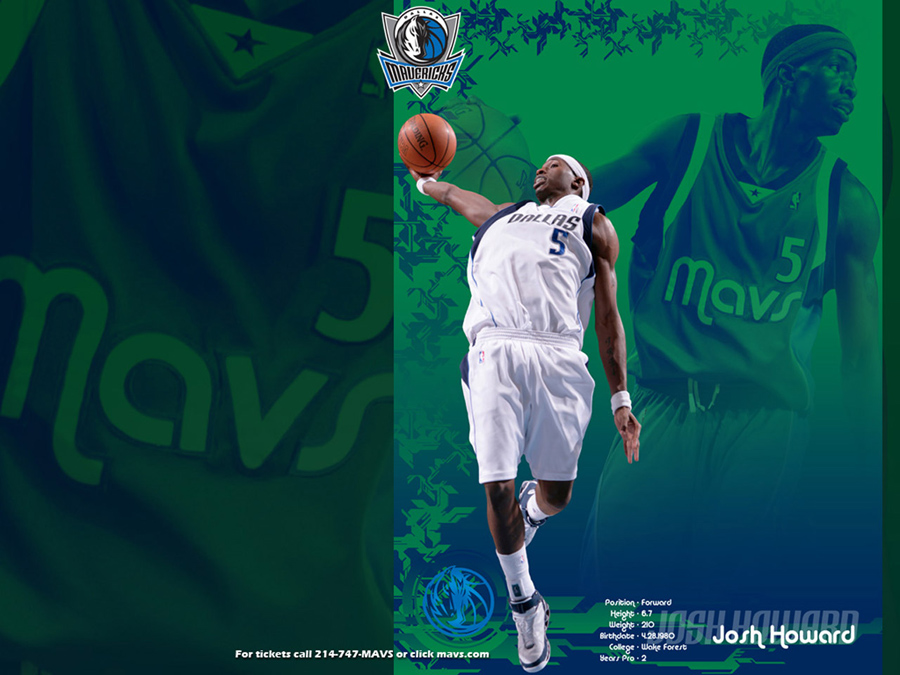 Josh Howard Mavericks Wallpaper