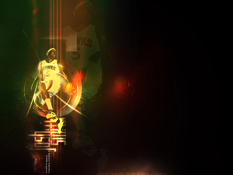 Josh Smith Between The Legs Dunk Wallpaper