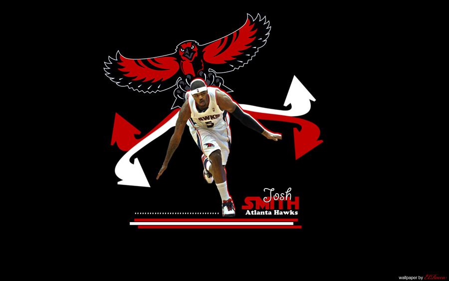 Josh Smith Hawks Widescreen Wallpaper