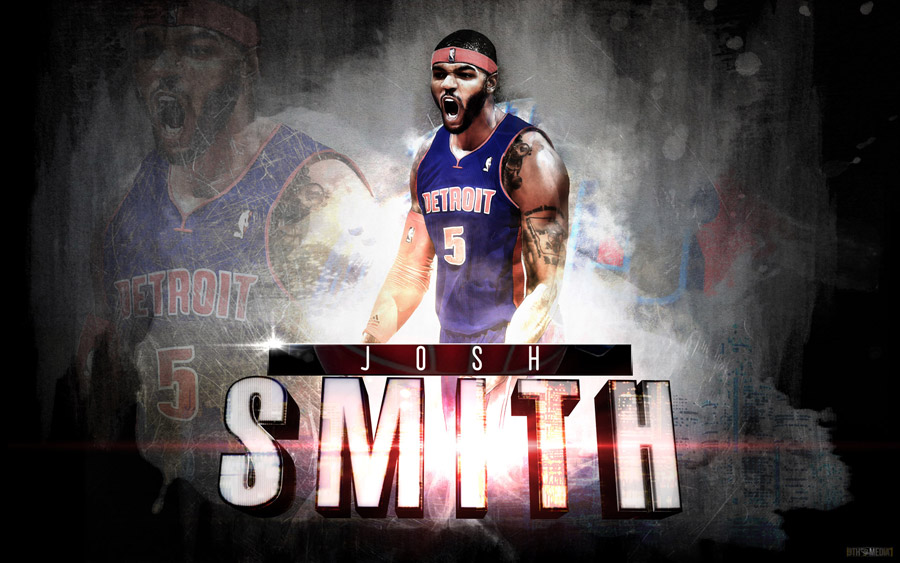 Josh Smith Pistons 1920x1200 Wallpaper
