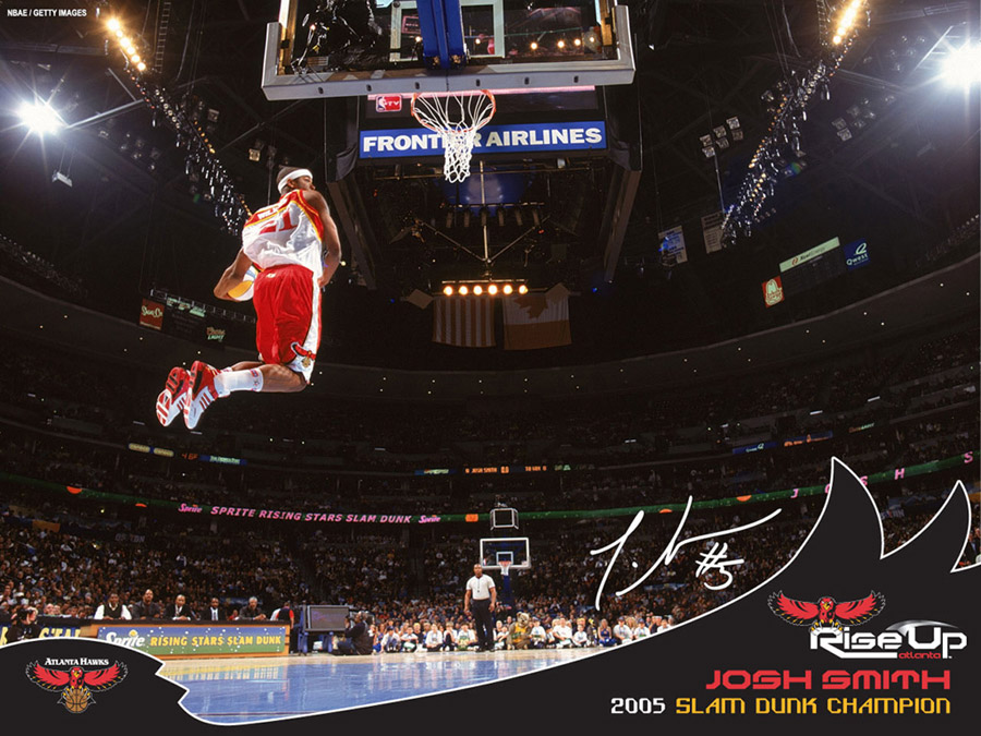 Josh Smith Slam Dunk Champion 2005 Wallpaper