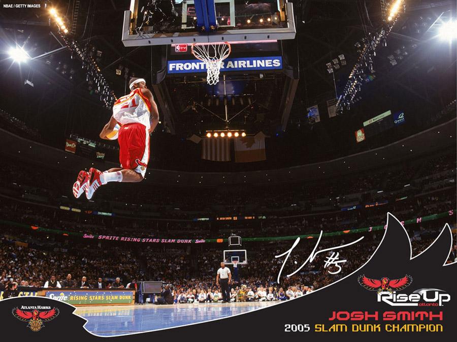 Josh Smith Slam Dunk Champion 2005 Wallpaper