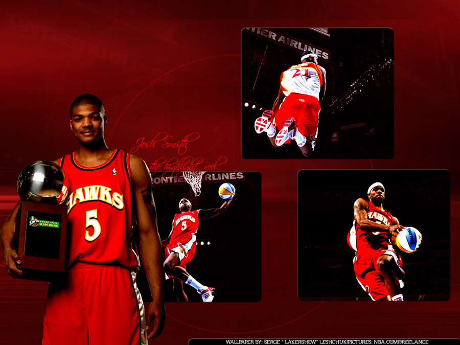 Josh Smith Slam Dunk Champion Wallpaper