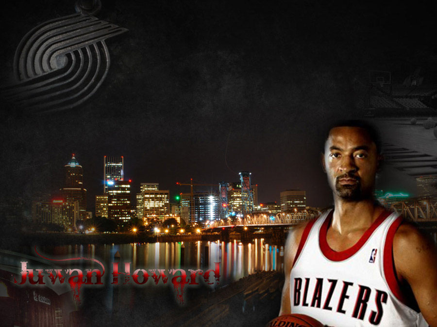 Juwan Howard Blazers Wallpaper