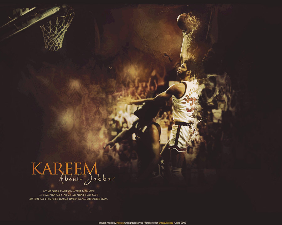 Kareem Abdul-Jabbar Skyhook Wallpaper