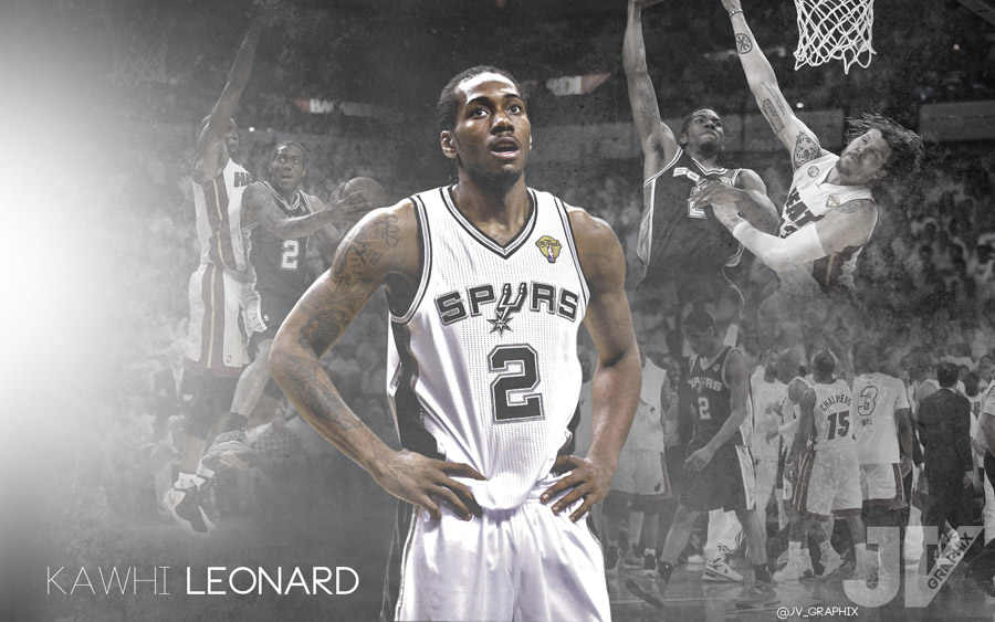 Kawhi Leonard 2013 NBA Finals 1680x1050 Wallpaper