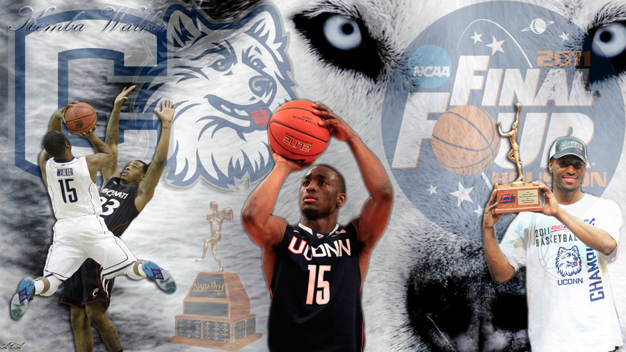 Kemba Walker UCONN 2011 FF Widescreen Wallpaper