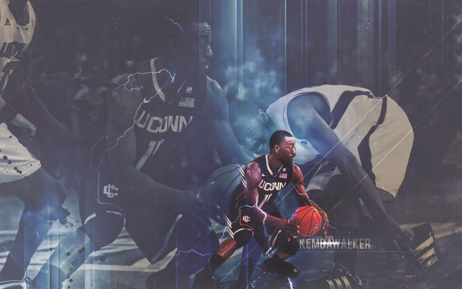 Kemba Walker UCONN Widescreen Wallpaper
