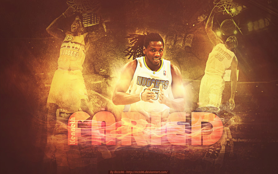 Kenneth Faried Denver Nuggets 1920x1200 Wallpaper