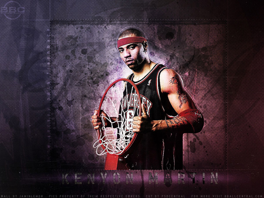 Kenyon Martin Nets Wallpaper