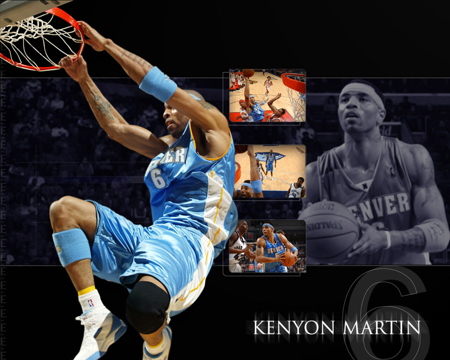 Kenyon Martin Nuggets Wallpaper