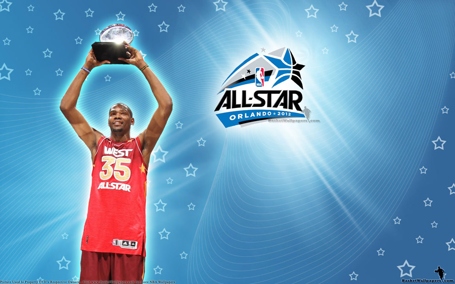 Kevin Durant 2012 NBA All-Star MVP Wallpaper