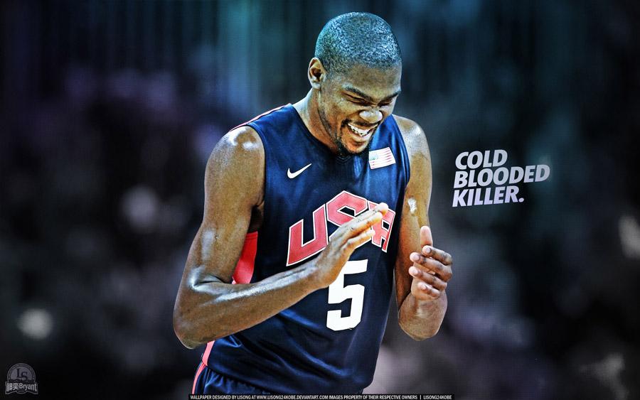 Kevin Durant 2012 vs Argentina 2560x1600 Wallpaper