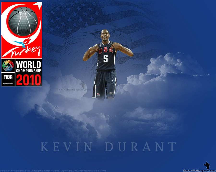 Kevin Durant FIBA WC 2010 Wallpaper