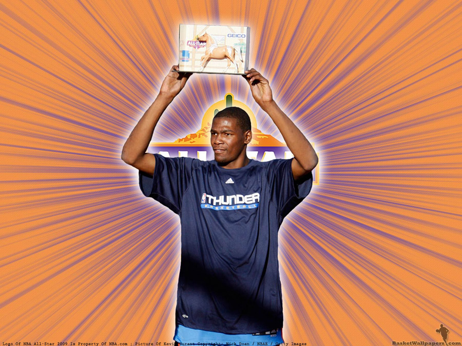 Kevin Durant H-O-R-S-E 2009 Champion Wallpaper