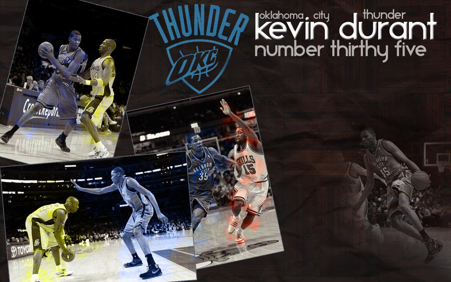 Kevin Durant Oklahoma City Thunder Wallpaper